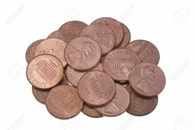 penny pile
