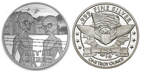 Area 51 silver and common reverse