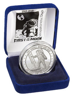 Amstrong space museum coin_box