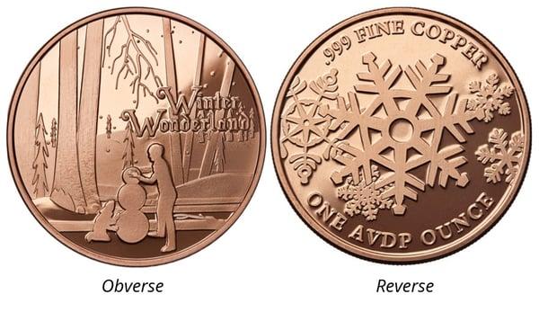Osborne Mint Winter Wonderland Page image