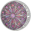 Colored Light - #1 Rose Window
