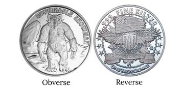 Yeti Obverse Reverse