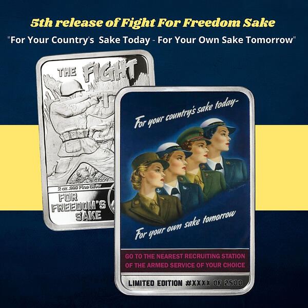 Available now- 5th release of the fight for freedom's sake