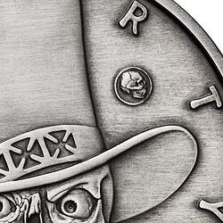 American Skull - Gambler Antique privy mark close up-1