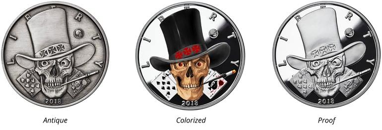 Western Skulls-The Gambler Page image-28pt