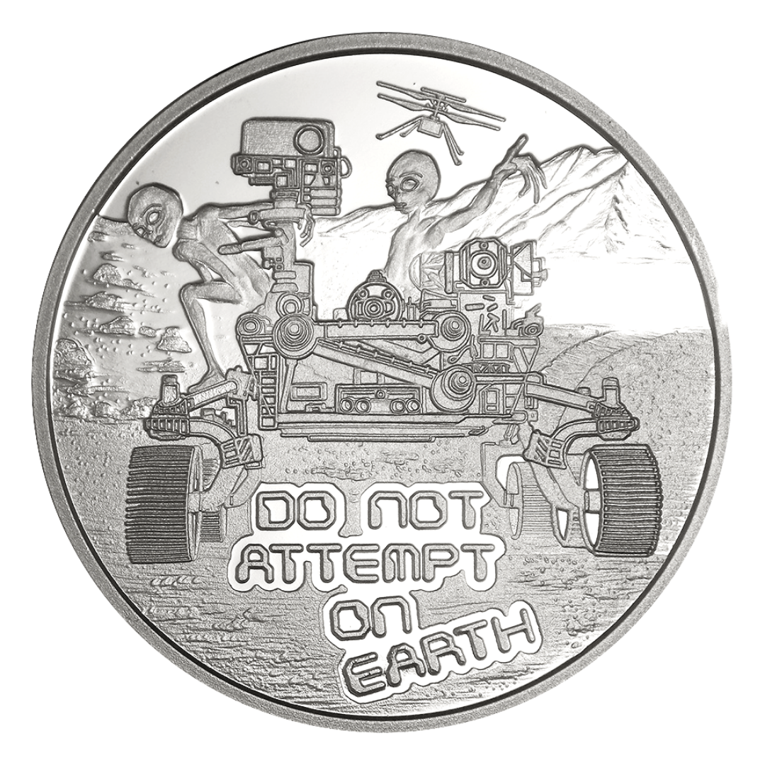 Don Not Attempt On Earth - 3rd Release