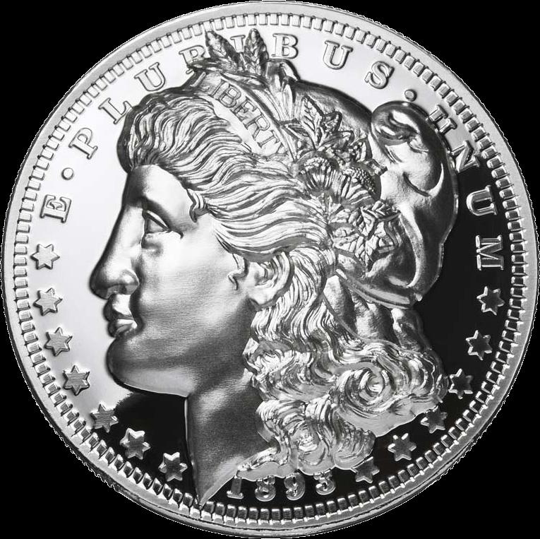 American Legacy 1893 Morgan Dollar